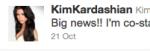 Kim K Tweet