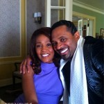 "SPOTTED: Whitney Houston & Mike Epps on ""SPARKLE"" Set… [PHOTO]"