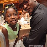 Yung Joc and Daughter