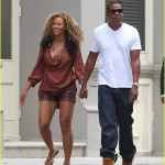 Beyonce and Jay-Z October 9, 2011