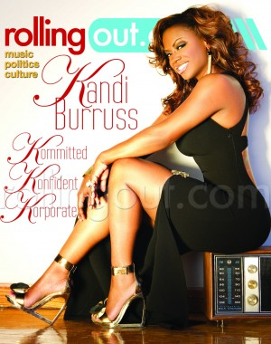 Kandi Burruss Rolling Out Cover