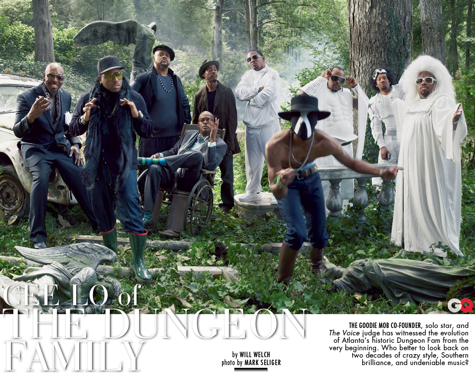 Dungeon Family GQ