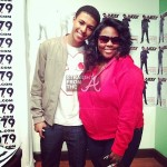 Diggy Simmons and Jordan Patton (CEO Purple Ribbon Kids)
