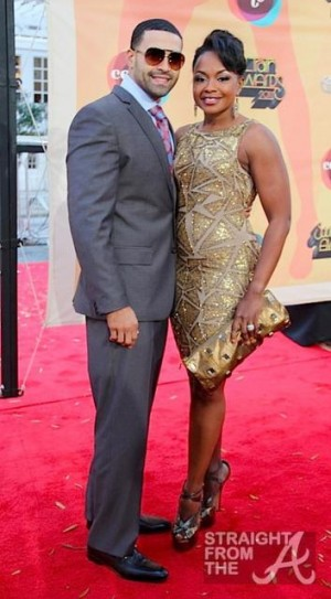 Apollo Nida and Phaedra Parks 2011 Soul Train Awards