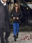 Beyonce Baby Bump NYC 112911-5