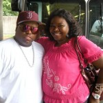 Ceelo Green and Michelle ATLien Brown