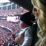 Kim Zolciak Falcons Saints