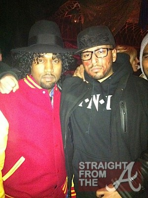 Kanye West and guest - halloween-2011