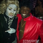 Teyana Taylor and Kevin Hart Halloween 2011