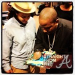 Big Boi Signs Authograph