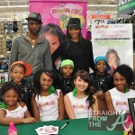 Cynthia Bailey & Leon attend Walmart Holiday Party