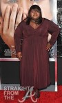 Gabourey+Sidibe+Celebs+Premiere+Extremely+ December 12, 2011