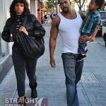 Reunited? Jennifer Hudson & David Otunga Do Lunch + Punk's WWE Commercial [PHOTOS + VIDEO]