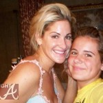 Kim Zolciak Pre-Nose Job No Wig