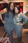 Michelle ATLien Brown and Phaedra Parks