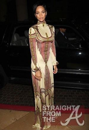 Rihanna (same dress)