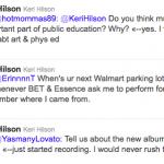 Keri Hilson Tweet 3
