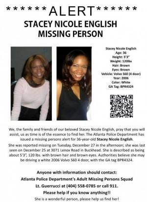 missing people updates