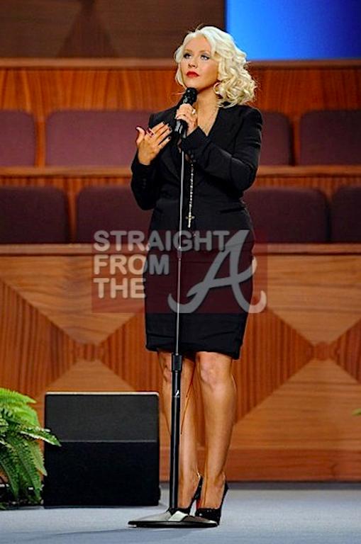 Christina Aguliera StraightFromTheA 1