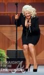 Christina Aguilera Etta James Funeral