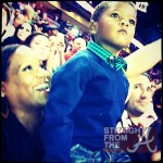 Tameka Raymond at HEAT game