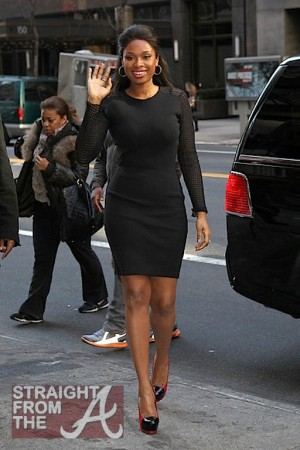 Jennifer Hudson NYC 011112-12