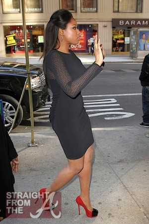 Jennifer Hudson NYC 011112-3