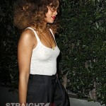"Look at Me Now! Rihanna Reps ""THUGLIFE"" in See-Through Tank… [PHOTOS]"