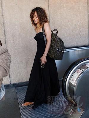 Rihanna at LAX 012212-5