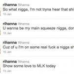 Rihanna Tweets