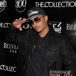 TI-wearing-Dita-Mach-One-Sunglasses-Nike-Oakland-Raiders-hat-denim-Jacket-Nike-Air-Yeezy-Sneakers-1
