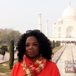 Oprah Visits Taj Mahal India