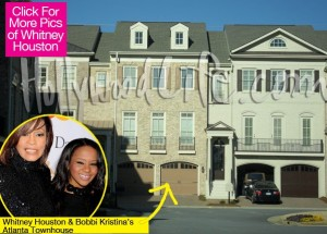 Whitney Houston Atlanta Town Home
