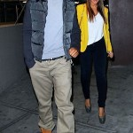 Boo'd Up ~ Beyonce & Jay-Z Hit the NY Knicks Game… [PHOTOS]