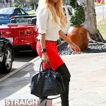 Blonde Ciara in Beverly Hills 021112-2