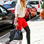 Blonde Ciara in Beverly Hills 021112-3