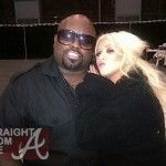 "Quik Pic: CeeLo & Christina Aguilera + Do You Buy ""Leaking"" Spray Tan Story?"