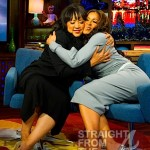 Jackee Harry Sheree Whitfield Fake Hug