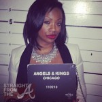 Mugshot Mania ~ Atlanta Housewife Kandi Burruss 'Busted' in Chicago… [PHOTOS]