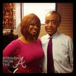 Kandi Burruss Rev Al Sharpton