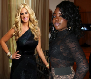 Kim Zolciak Sweetie Hughes RHOA