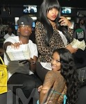 Neyo and Monyetta Shaw at Magic City ATL 020412-14