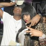 Neyo and Monyetta Shaw at Magic City ATL 020412-23