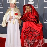 Nicki Minaj and Pope Grammys 2012-1