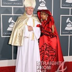 Nicki Minaj and Pope Grammys 2012-12