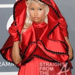 Nicki Minaj and Pope Grammys 2012-4