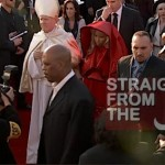Nicki Minaj and Pope Grammys 2012-7