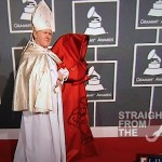 Nicki Minaj and Pope Grammys 2012-9