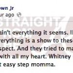 Bobby Brown Jr Facebook