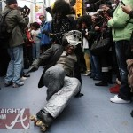Soul Train Founder Don Cornelius Honored With Flash Mob Tribute in NYC's Time Square  [PHOTOS + VIDEO]